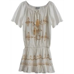 Daylight Big Girls Short Sleeve Moon Beam Dress