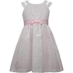 Bonnie Jean Little Girls Eyelet Dress