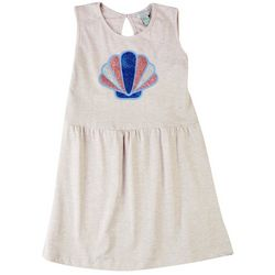 4 Hearts Little Girls Glitter Shell Dress