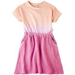 Big Girls Justice Ombre Pocket Dress
