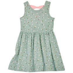 Little Girls Summer Flower Dress