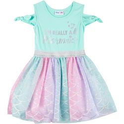 Freestyle Little Girls Im Really A Mermaid Tutu Dress