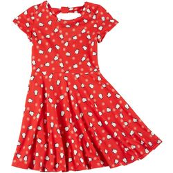 Girls Short Sleeve Penguin Dress