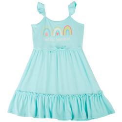 Little Girls Endless Sunshine Tier Dress