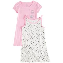 Little Girls 2-pk. Hang Out Star Dress Set