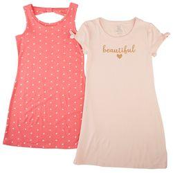 Sweet Butterfly Big Girls 2-pk. Beautiful Heart Dress Set
