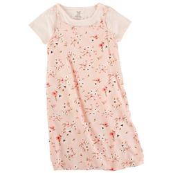 Big Girls 2-pc. Floral Print Dress Set