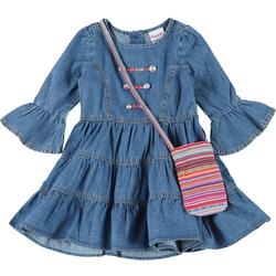Nanette Little Girls 2-Pc Tiered Dress Set