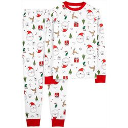 Carters Mens 2-pc. Holiday Print Pajama Set