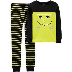 Carters Little Boys 2-pc. Monster Pajama Set