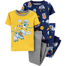 Carters Toddler Boys 4-pc. Space Pajama Pants Set
