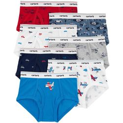 Carters Little Boys 7-pk. Airplane Cotton Briefs