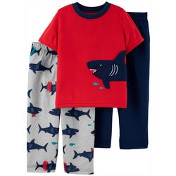 Carters Toddler Boys 3-pc. Shark Pajama Set