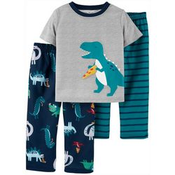 Carters Toddler Boys 3-pc. Dino Pajama Set