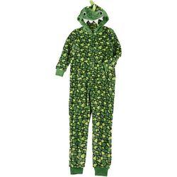 Rene Rofe Big Boys 1-pc. Dino Fleece Pajamas