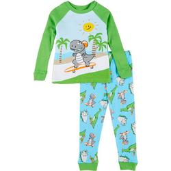 Toddler Boys 2-pc. Dino Pajama Set