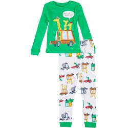 Toddler Boys 2-pc. Giraffe Pajama Set