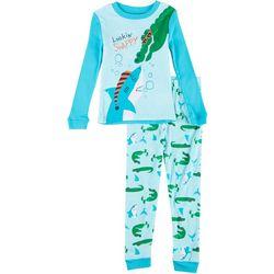 Komar Toddler Boys 2-pc. Lookin' Snappy Pajama Set