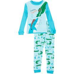 Toddler Boys 2-pc. Lookin' Snappy Pajama Set