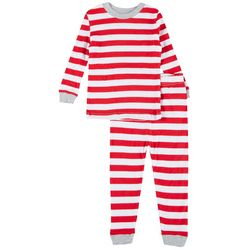 Toddler Boys 2-pc. Stripe Pajama Set