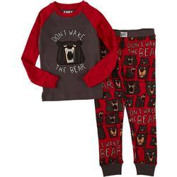 Lazyone Toddler Boys 2-pc. Dont Wake The Bear Pajama Set
