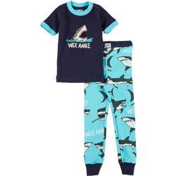 Lazyone Toddler Boys 2-pc. Wide Awake Pajama Set