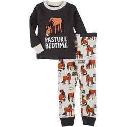 Lazyone Big Boys 2-Pc. Pasture Bedtime Pajama Set