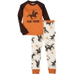 Lazyone Big Boys 2-pc. Yee Haw Pajama Set