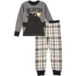 Lazyone Big Boys 2-pc. Bear Hug Pajama Set