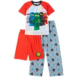 Big Boys 3-pc. Ninjago Pajama Set