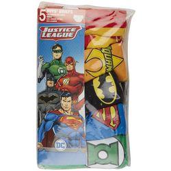 Justice League Little Boys 5-pk. Character Print Briefs