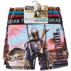 Star Wars Big Boys 4-pk. Altheltic Boxer Briefs