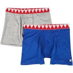 Boys 2-pk. Shark Bait Boxer Briefs