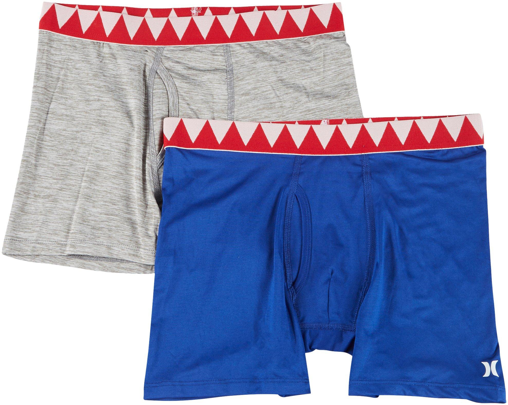 Hurley Boys Classic Boxer Briefs 2-Pack
