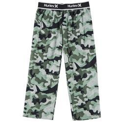 Boys Camo Shark Pajama Pants