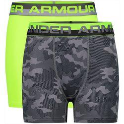 Under Armour Big Boys 2-pk. Boxerjock Camo Boxers