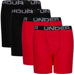 Under Armour Big Boys 4-pk. Cotton Boxers