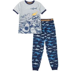 Jelli Fish Inc. Big Boys 2-pc. Jaws Some Pajama Set