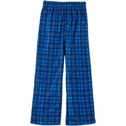 Little Boys Plaid Fleece Pajama Pants