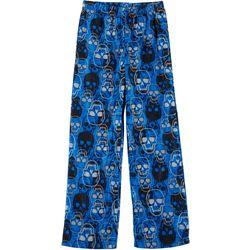 Jelli Fish Inc. Little Boys Skull Fleece Pajama Pants