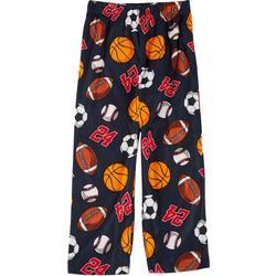 Big Boys Sports Print Sleep Pants