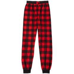 Jelli Fish Inc. Big Boys Plaid Pajama Joggers