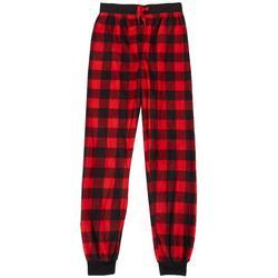 Big Boys Plaid Pajama Joggers