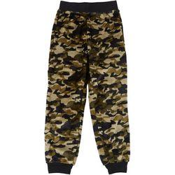 Jelli Fish Inc. Big Boys Camo Fleece Pajama Pants