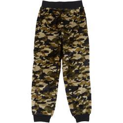 Big Boys Camo Fleece Pajama Pants