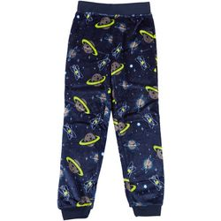 Jelli Fish Inc. Big Boys Galaxy Fleece Pajama Pants