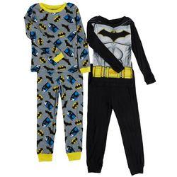 Batman Big Boys 4-pc. Pajama Set