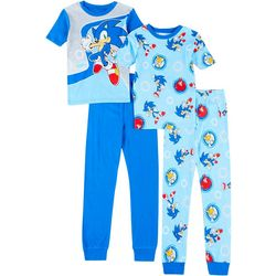 Sonic Little Boys 4-pc. Step It Up Pajama Set