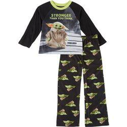 Baby Yoda Big Boys Stronger Than You Think Pajama Set