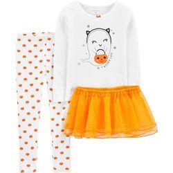 Carters Toddler Girls 3-pc. Wicked Cute Tutu Set